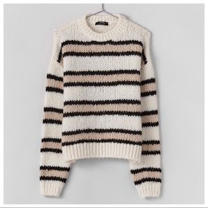 NWT. Bershka Striped Sweater. Size XS.